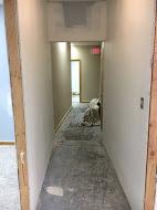 Hallway into Suite C