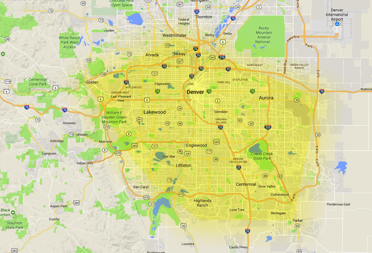 aba therapy denver map