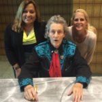 AHSS Team Members Meet Dr. Temple Grandin!