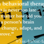 Therapy Is Effective, Regardless of Age – You're Not Alone