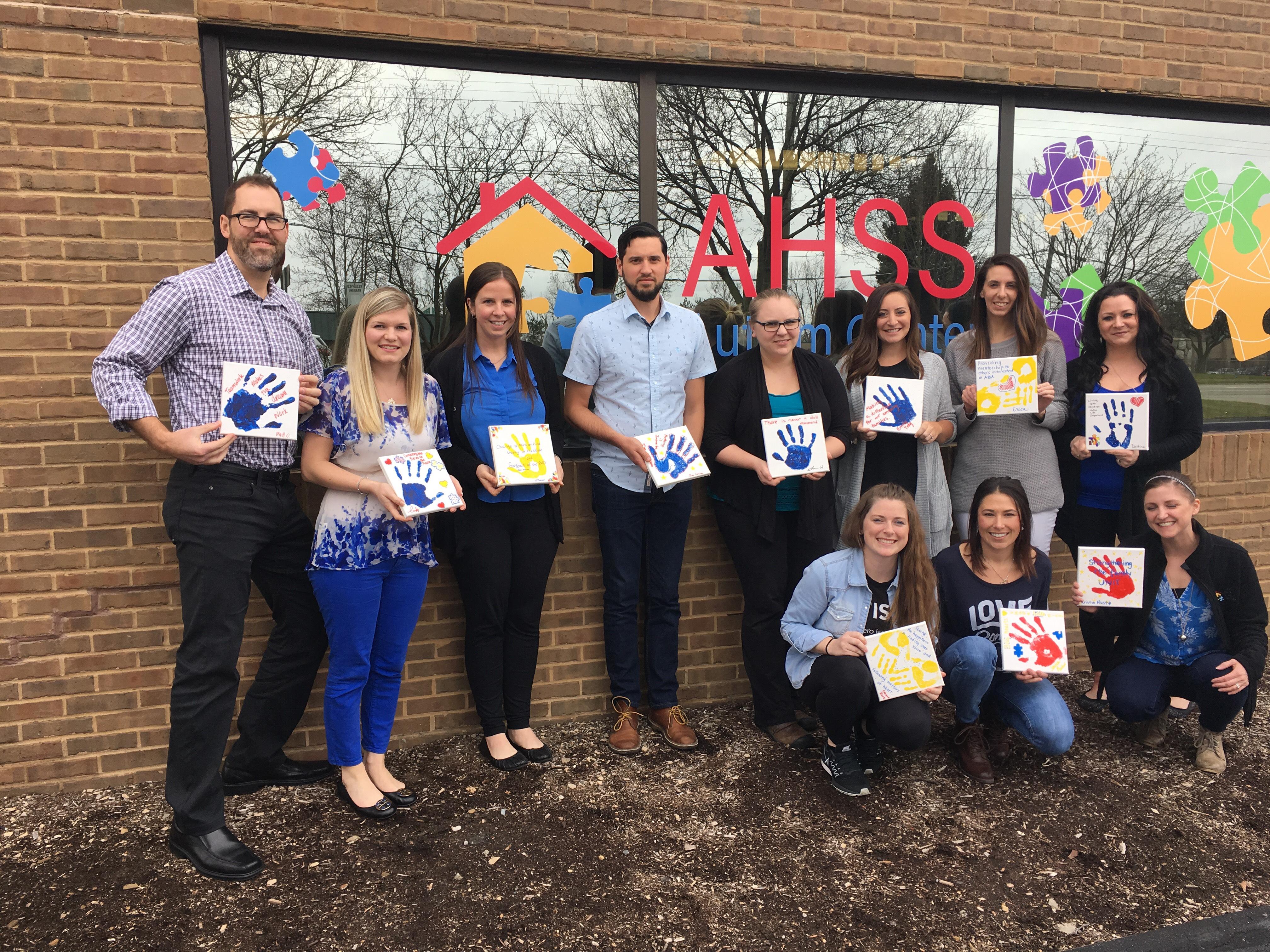 AHSS Autism Center - Northville crew